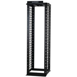 "Mighty Mo 20 Channel Rack, 30""D Channel, 9'H, 58 RU, Tapped #12-24, Black"