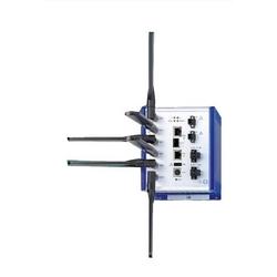 DIN Rail Mount, IP30, 2 Radios, 18-60 V DC, 2 RJ45 ports, C1D2 rated, starter kit