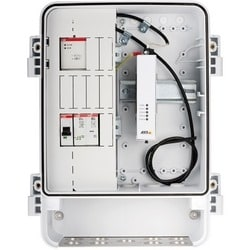 Pre-assembled T98A Surveilance cabinet with following system comPoEnts:<br/>(1) Breaker and surge protection, (2), 12 V DC DIN PSU, (3)AXIS T8604 Media Converter, (4) Internal cables and mounts.<br/>Tested and verified with Axis cameras.