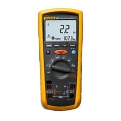 The Fluke 1577 Insulation Multimeter combine a digital insulation tester with a full-featured, true RMS digital multimeter in a single, compact, handheld unit, which provides maximum versatility for both troubleshooting and preventative maintenance.