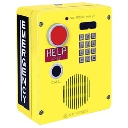 RED ALERT VoIP Hands-free Emergency Telephone with Full Keypad, HELP and Call Button