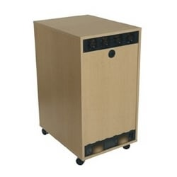 RAP Series 20 Space RK Rear Access Kit, 20 RU, 19.13 Inch Width x 35 Inch Height, Wood, Maple