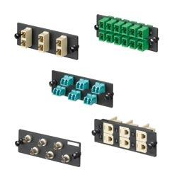 FAP avec 3 SC Duplex Multimode adaptateurs (électrique Ivoire) Phos