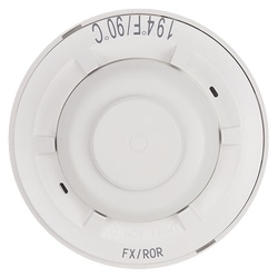 Heat Detector, 194ºF Fixed Temperature/Rate-of-Rise, Dual-circuit Mechanical