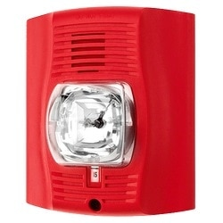 Chime/Strobe, Indoor, Wall Mount, Red