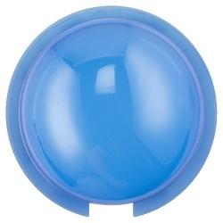 Lentille de couleur, plafond, bleu
