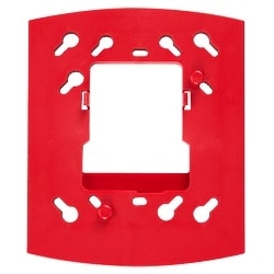 Trim Ring, Wall Horn/Strobe, Red