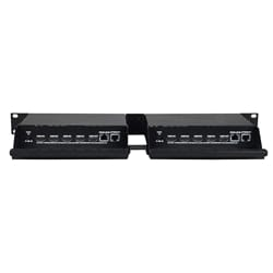 HDMI écran quadruple Multiviewer, 1RU Dual Side-by-Side Rack-mount