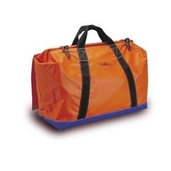 Tool Bag 24in. W/Heavy Weight Vinyl Coated Nylon, Weather Flap, Web Handles, Hard Board Bottom, Vinyl Reinforcement, Leather Buckle Closure