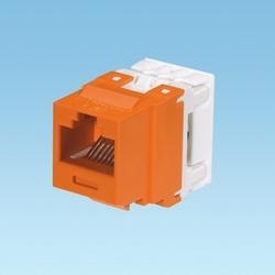Category 6A Netkey Punchdown Module, Orange