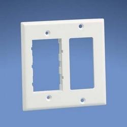 Rectangulaire double commande électrique & deux Communication insérer la plaque frontale, Gray International