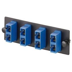 FAP W/2 SC Duplex Adapters (BU) Zirconia