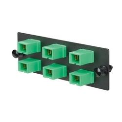FAP W/3 SC APC Duplex adaptateurs (AG) zircon