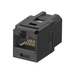 Mini-com Coupler Module, Category 5e, UTP, Blue.