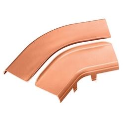 """Split Cover, Horizontal 45 Angle, 6"""" X 4"""" (150mm X 100mm), Fiberrunner, Orange"""