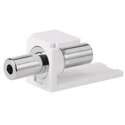 Stereo Coupler, 3.5mm, International Gray
