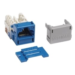 COMMSCOPE SYSTIMAX SOLUTIONS | MGS600-318 | 760092452 GigaSPEED X10D MGS600 Series Information Outlet, Blue | Tuggl