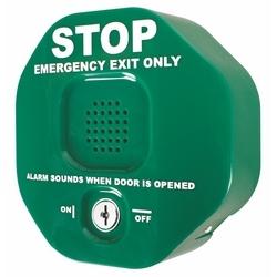Sortie alarme de butée de porte multifonction - vert