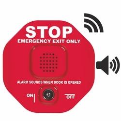 Alarme de porte multifonction pour le bouchon sortie sans fil