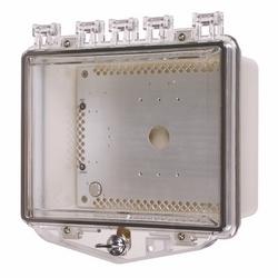 Boîtier Polycarbonate chauffée - pouce Lock