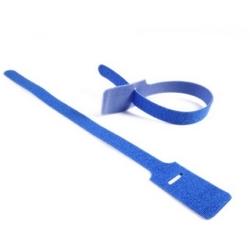 "Grip Tie, 15.0""x.75"", Polyamide; Polyethylene, Blue, 10/pkg"