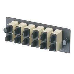 FAP avec 4 SC Duplex Multimode adaptateurs (électrique Ivoire) Phos