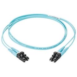 Opti-Core fibre Patchcord, OM3 2-fibre, Riser, SC-SC Duplex, Aqua, veste 3mm, 3 mètres