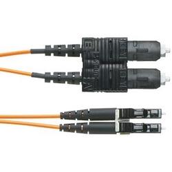 NetKey 2-fibre OS2 1,6mm Riser veste cordon de brassage, LC à SC, 10m