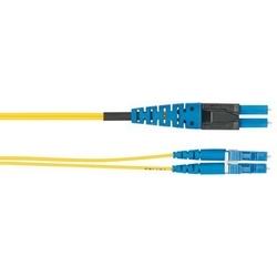 LC PViQ de fibre de LC standard, OS2 interconnect duplex cordon de brassage, plenum, 4,0 m