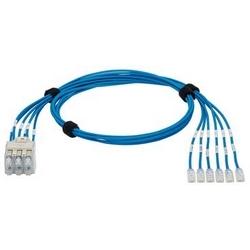 Commutateur QN rapiéçage, harnais, Cat 6 28AWG bleu UTP CM/LSZH câble, fiche encastrée 6-Pack Pack de fiches modulaires, 7ft