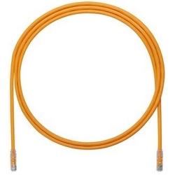 Copper Patch Cord, Cat 6A, Orange UTP Cable, 3m