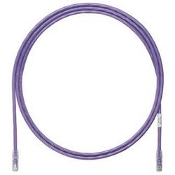 Cordon de brassage, Cat 6 a, câble UTP Violet, de cuivre 1,5 mètre