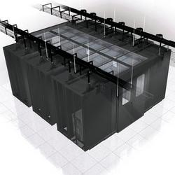 600mm découpage mur panneau adaptateur, noir