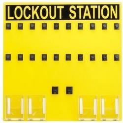 Station de lock-out (signature uniquement), 20 personne.