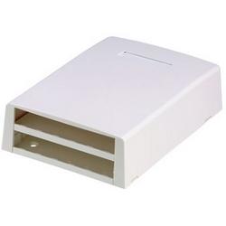 Surface de montage boîte, Port 12, Multimedia, Gray Intl