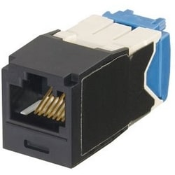Mini-com Keyed Module, Cat 6 a, UTP, 8 Pos 8 fils, Universal, Orange, TG Style