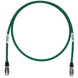 Cordon de brassage en cuivre, Cat 6 a, câble S/FTP vert, 25m