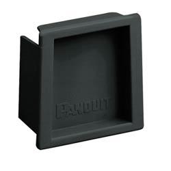 "Fitting, End Cap, 2"" x 2"" (50mm x 50mm), Fiber-Duct, Black"