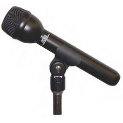 «Classique» Interview omnidirectionnelle dynamique Microphone, noir