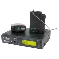 """17-canal synthétisés Base émetteur avec écran LCD rétroéclairé, XLR et 1/4"""" entrées, sélectionnable micro/ligne/70 V Input/RF transmettre puissance, EDR, antenne télescopique, alimentation"""