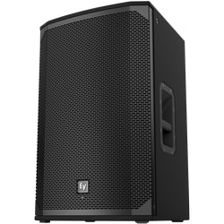 Passive 15 in. 2-way Speaker, 1600 W (Peak), EKX-15 Delivers Up to 132 dB SPL, Lightweight, Compact 15-mm Wood Enclosure, Durable EVCoat Finish, Aluminum Pole-mounts, and All-metal Handles