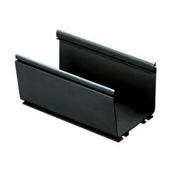 """Canal, 4 """"x 4"""" (100 x 100 mm), pi 6, FiberRunner, noir"""