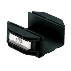 """Coupler, 2"""" x 2"""" (50mm x 50mm), FiberRunner, Black"""