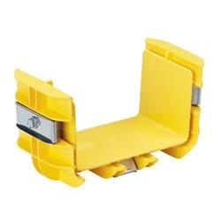 """Coupler, 6"""" x 4"""" (150mm x 100mm), FiberRunner, Yellow"""