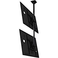 """Double écran plafonnier Moniteur système avec interface de montage universel pour 37 à 65""""+ affiche"""