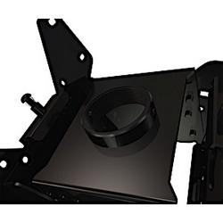 """Boîtier de montage et assemblage d'adaptateur VESA écran de 13"""" à 37"""" écrans dos à dos double de plafond"""