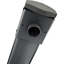 Bras de projecteur courte portée unique goujon