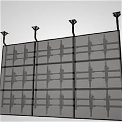 FlexWall video matrix flying frame