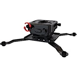 Universal mount for projectors with micro adjust and additional extenders