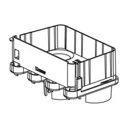 """Spillout raccord, 3-Port à 1,5""""(38mm) diamètre intérieur ondulé de tuyau, ou"""